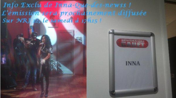 """Inna a été invité à l'emission de Cauet sur NRJ nommé """"Bienvenue Chez Cauet"""".  La vidéo est à voir plus haut."""