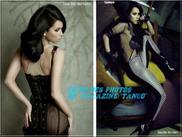 """[ New du 08 mai ] Photoshoot pour """"Tango"""" + Message à ses fans !"""