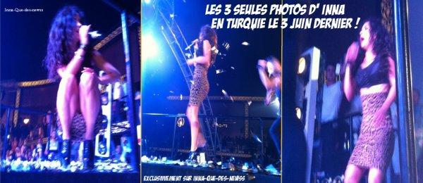 """[ New du 6 juin ] Ce 3 juin, INNA était en Turique, où elle a Performé au Aura Club, à Kemer ! Ecoutes son interprétation de """"Caliente"""" !"""