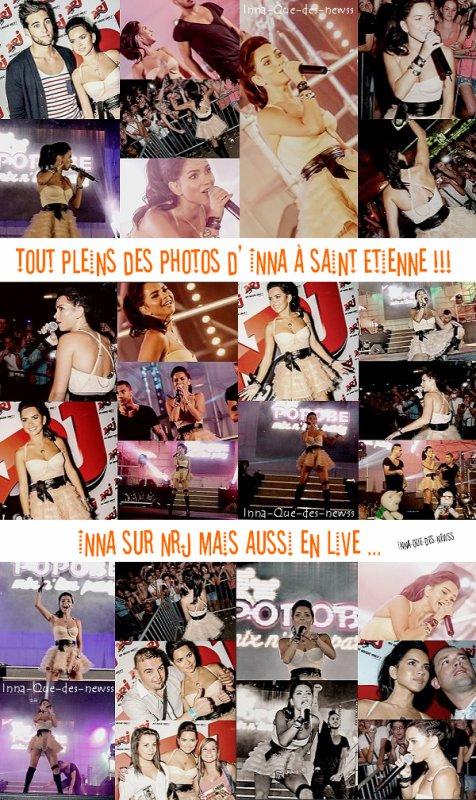 [ New du 03 juillet ] Toutes les photos d' INNA de son passage à NRJ à Saint Etienne !