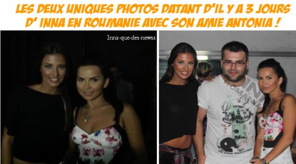 [ New du 05 juillet ] INNA en photo avec Antonia + Noouveau single de cette chanteuse ♥ !
