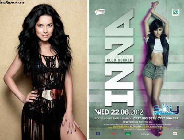 [ New du 11 juillet ] Nouveau photoshoot + Affiche pour concert en Roumanie + Photo nu prise par INNA & quelques Blabla...