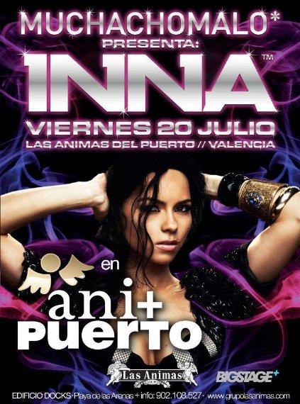 """[ New du 22 juillet ] INNA chante son premier tube """"Hot"""" à Valencia en Espagne..."""
