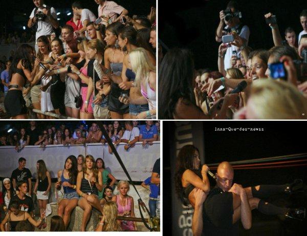 [ New du 31 juillet ]  Le 28 Juillet dernier, INNA était à Pula pour performé ses hits. Voici toutes les photos en EXCLU !