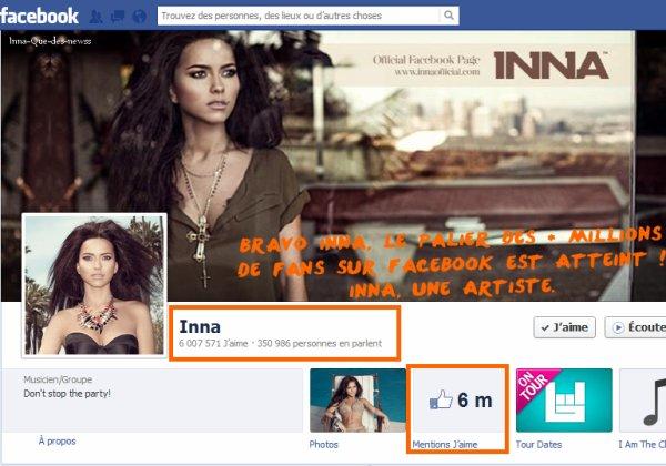 [ New du 05 aout ] 6 millions de Fans sur Facebook !!!