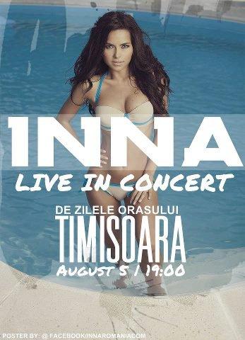 [ New du 08 aout ] INNA chante Inndia, Wow et Endless  à Timisoara ( En Roumanie )  le 5 aout dernier ( 2eme partie )