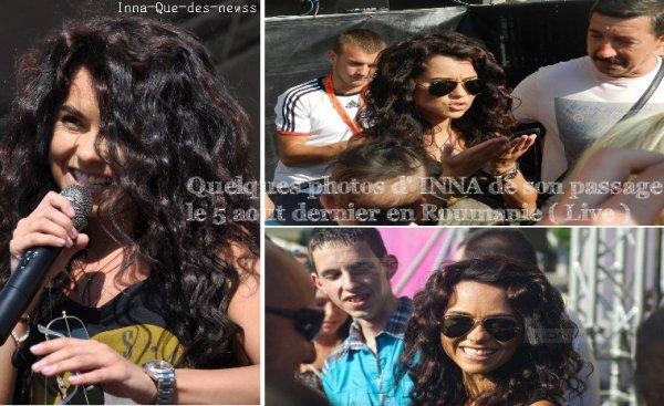 [ New du 07 aout ] Photos de sa soirée à Timisoara en Roumanie ce 5 aout dernier ( 1ere partie ).