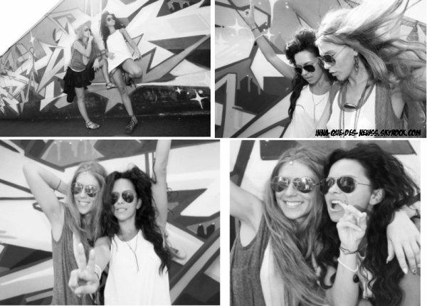 """[ New du 24 aout ] Quelques photos et la vidéo du """"Behind the Scenes"""" qu'INNA et Corona ont fait pour """"Star Gossip Magazine"""" !"""