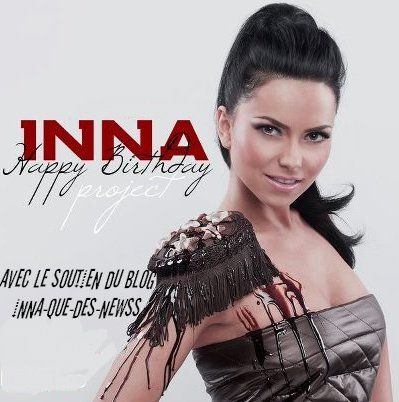 [ Article du 09 Sept. ] INNA FETERA SES 26 ANS LE 26 OCTOBRE >>> Surprise !!!