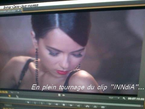 """RATRAPPAGE PARTIE 4  : Photos Sexxxxy d' INNA et Première photo du clip """"INNdiA"""" !"""