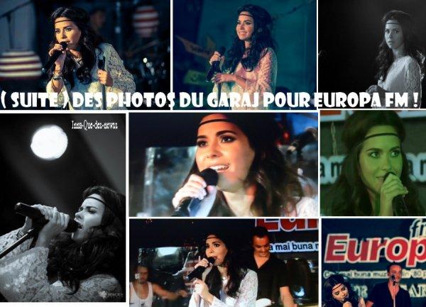 """[ Article du 15 sept ] ( Partie 1 ) INNA était [ comme l'an passé ] en Roumanie pour chan té dans un Garage pour """"Europa Fm 2012"""" !"""