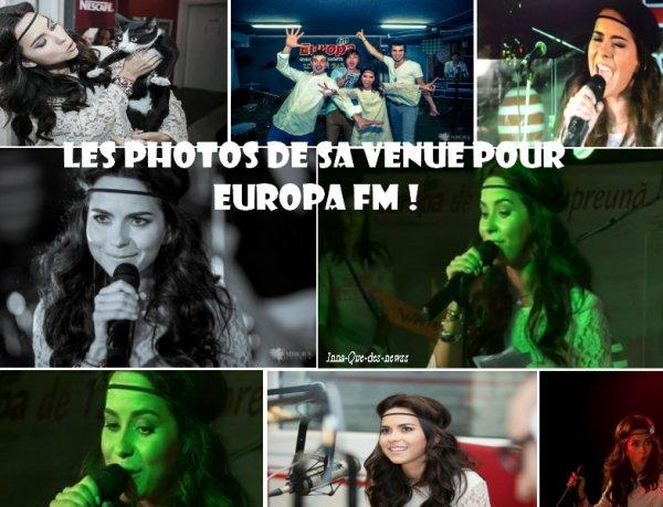 """[ Article du 16 sept ] Suite et fin de l'article d'hier d' INNA à Europa Fm ( Roumanie ) !!! Dans ces 2 vidéos, Inna chante """"Endless, """"Tu Si Eu"""",  """"If You Didn't Love Me"""", """"Wherever You Are"""",  """"Un Momento"""" et  """"Club Rocker"""" !"""
