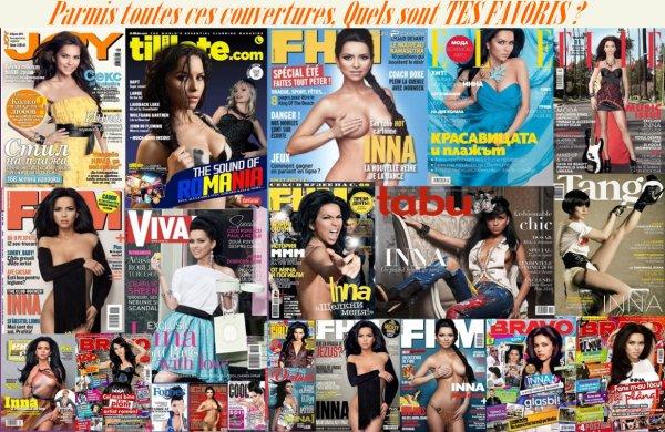 [ Article du 26 septembre ] Les plus belles couvertures de magazine...