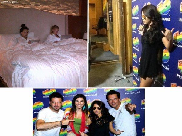 [ Article du 27 sept ] INNA poste une vidéo marquant un petit réusmé de son live à Morelia en début de semaine.