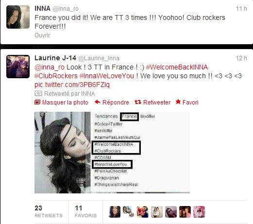 [ Article du 06 octobre ] Hier fût une belle journée pour les fans et pour INNA...