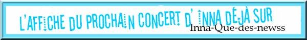 """[ Article du 04 décembre ] Affiche du concert au Bambo du 8 décembre + Photos en vrac toutes mises en lignes via """"Instagram"""" !"""