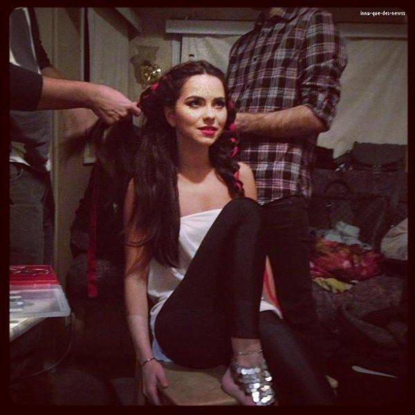 """[ Article du 07 décembre ] Quelques heures avant le live de """"Danse avec Les Stars"""" en Roumanie..."""