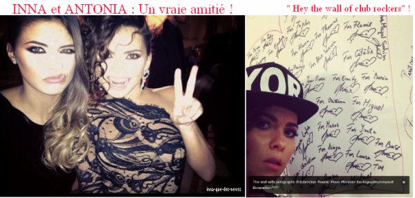 [ Article du 16 décembre ] Inna & la chanteuse Antonia en photos + NEWS !