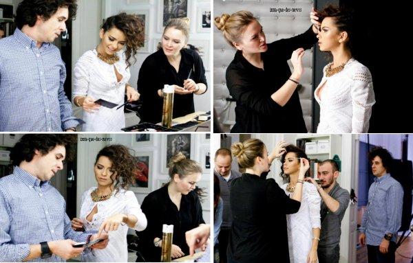 """[ Article du 20 Janvier ] Voici les photos du """"Behind the scenes"""" Pour le Magazine """"INSTYLE"""" !"""