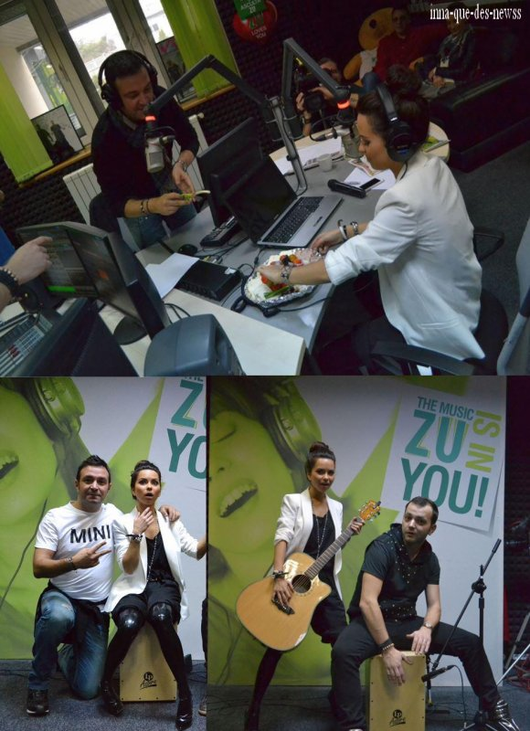 "[ Article du 16 Mars ] Les photos qui accompgnait le live de ""O.P.H.U.I"" et ""More than friends"" à Radio Zu..."