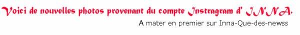 """INNA : Nouveau titre en Roumain appelé  """"Spre Mare"""" + Photos !"""