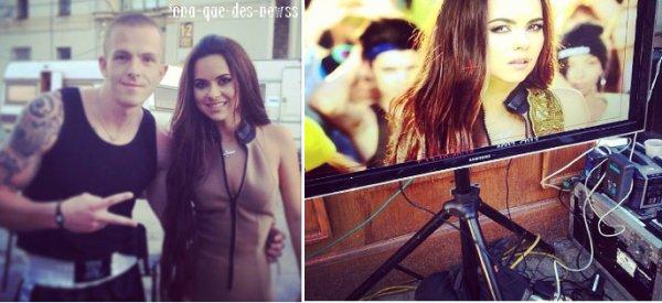"""[ New du 16 Mai ] INNA a tourné le clip de """"BE MY LOVER"""". Les premiers photos à découvrir !"""