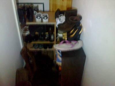 espace chaussures avant
