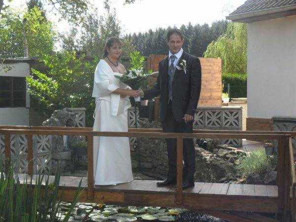 notre mariage le 22/09/2012