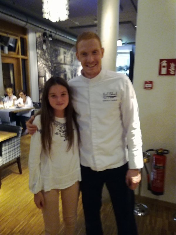 Ma cloė et Thomas murer de top chef