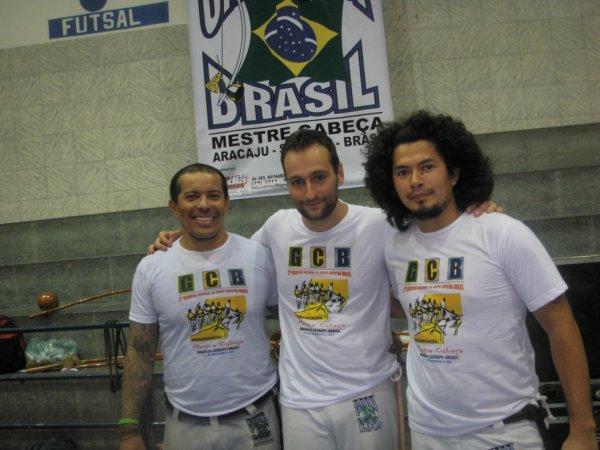 16éme rencontre internationale de capoeira aracaju sergipe Brasil Mestre cabeça 2011