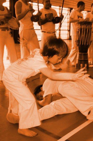Cours de capoeira pour enfants !