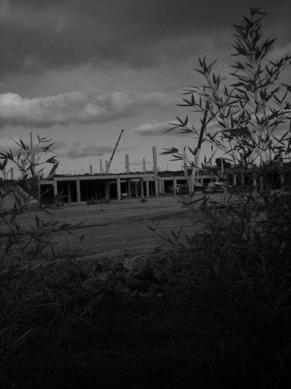 odysseum montpellier en construction