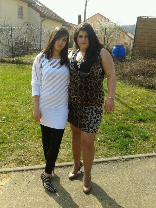 moi et ma belle soeur <3
