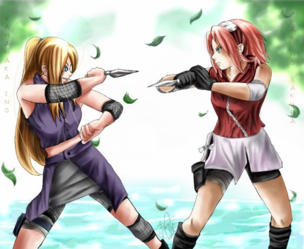 Concour Ino vs Sakura