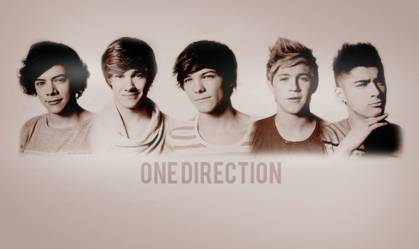 One drection photo
