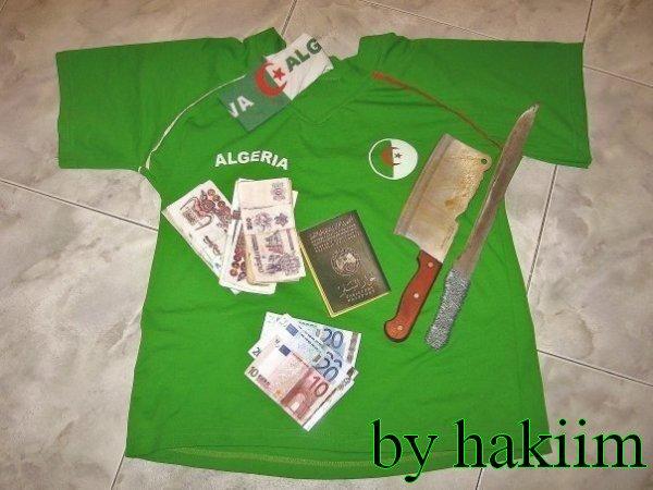 algerienne est fiér de letre