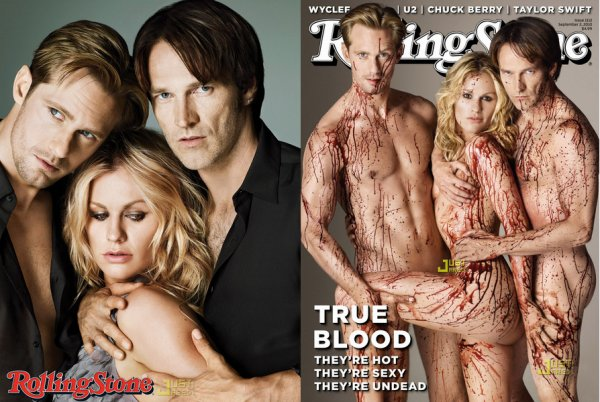 34# Le cast de la série  True Blood  pour le magazine américain  Rolling Stone , 2010. Photoshoot suggéré par  Surgery-Times .