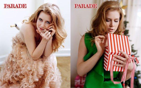 35# Amy Adams pour le magazine  Parade , Décembre 2010.