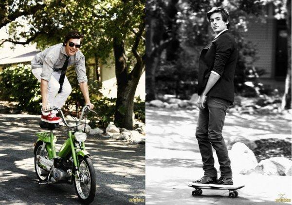 36# Zac Efron, photographié par Ben Watts, 2008.  Célébrité choisie par Glee-complete.