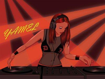Fondatrice d'un groupe de DJ sur facebook Outch xD's