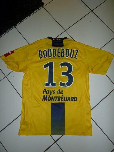 maillot porté par Ryad Boudebouz contre marseille (donné en main propre par ryad en tribune nord a la fin du match)