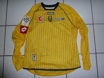 maillot porté damien perquis contre nice 2009-10
