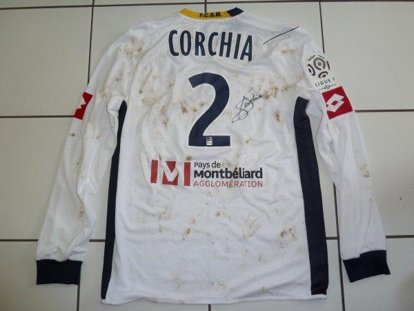 maillot porté Sebastien Corchia a dijon