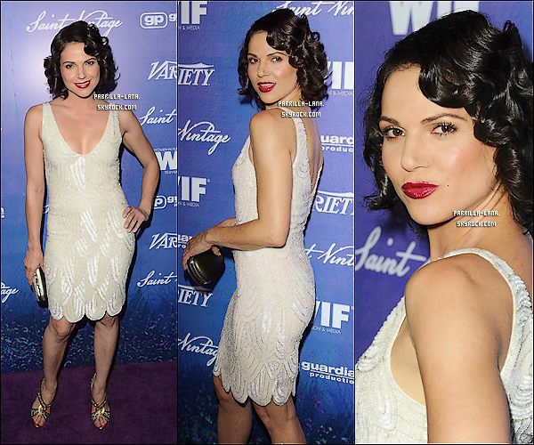 .     21/09/12 : - Lana était présente à la pré-soirée Emmy organisée par « Entertainment Weekly » à Los Angeles.     .