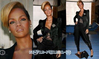 Rihanna chez Madame Tussaud à Washington