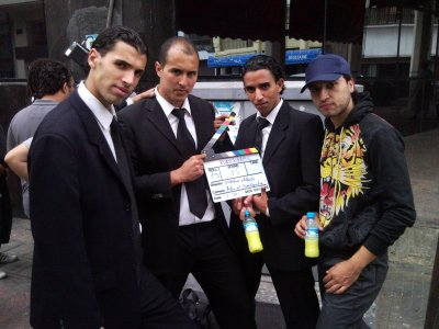 film ciné :road to kabul. poursuite, cascades , parkour 100% avec brahim chkiri . juin 2010