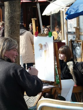 Artistes de la Place du Tertre
