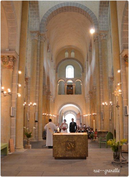 mariage à  saint - nectaire