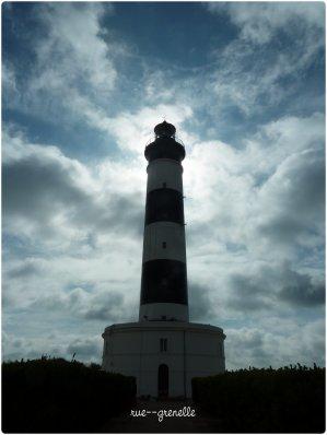 phare de Chassiron - plage des Huttes