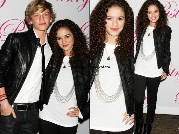 .   19 Janvier 2011 : Madison été présente à l'anniversaire de son ami Cody Simpson, à Santa Monica à Los Angeles .  Top ou Flop votre avis. .
